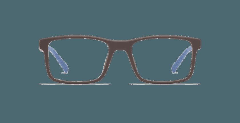 Gafas graduadas hombre ACE marrón/azul - vista de frente