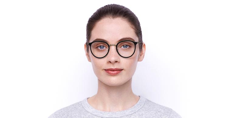 Óculos graduados INDIANA BK (TCHIN-TCHIN +1€) preto/dourado