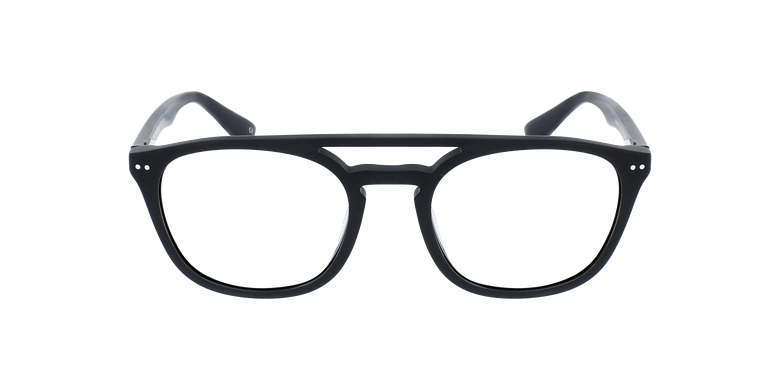 Lunettes de vue homme REMY noirVue de face