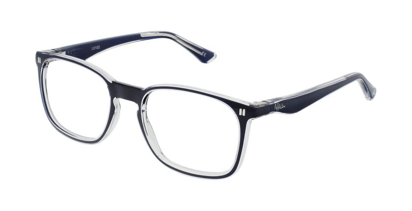 Óculos graduados criança REFORM TEENAGER (J2BL) azul - vue de 3/4