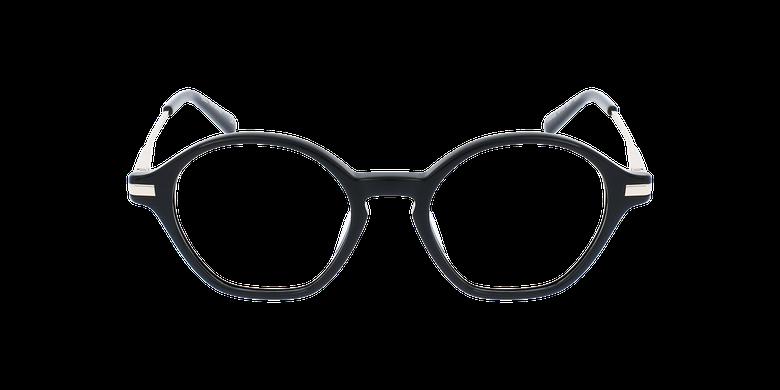 Lunettes de vue femme DAPHNE noirVue de face
