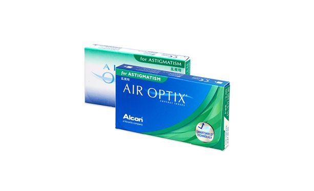 Lentilles de contact Air Optix for Astigmatism 3L - Vue de face