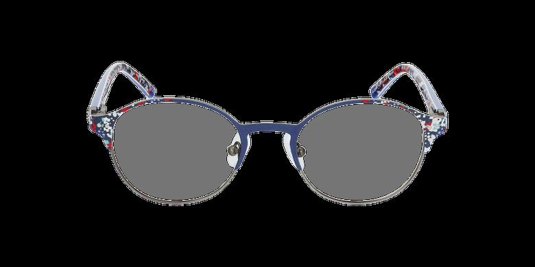 Lunettes de vue enfant FLAME bleu/argentéVue de face