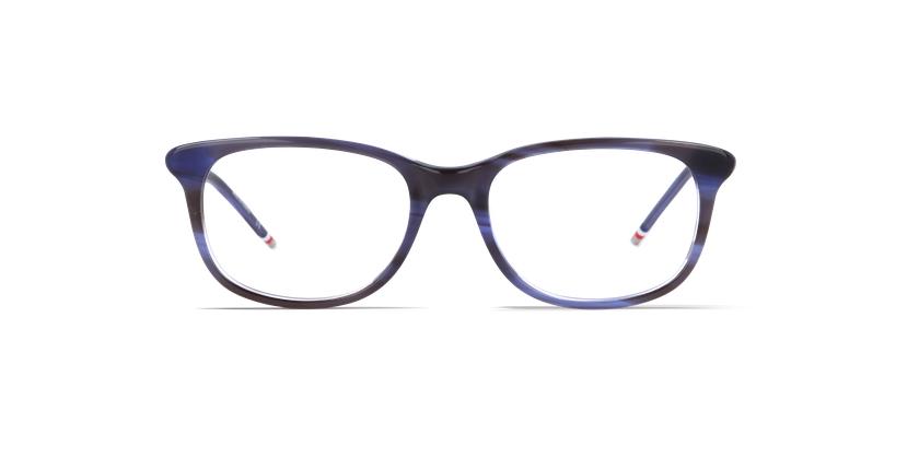 Óculos graduados senhora MARJOLAINE azul - Vista de frente