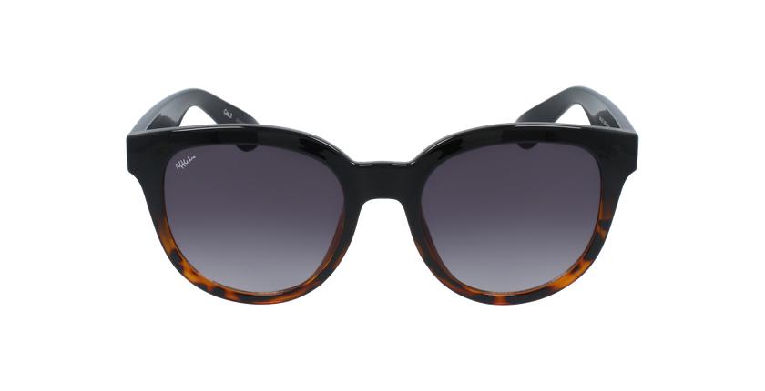 Óculos de sol senhora LUZ BK preto/tartaruga - Vista de frente