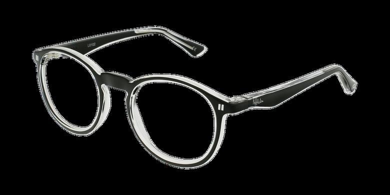 Óculos graduados criança REFORM TEENAGER (J4BK) preto