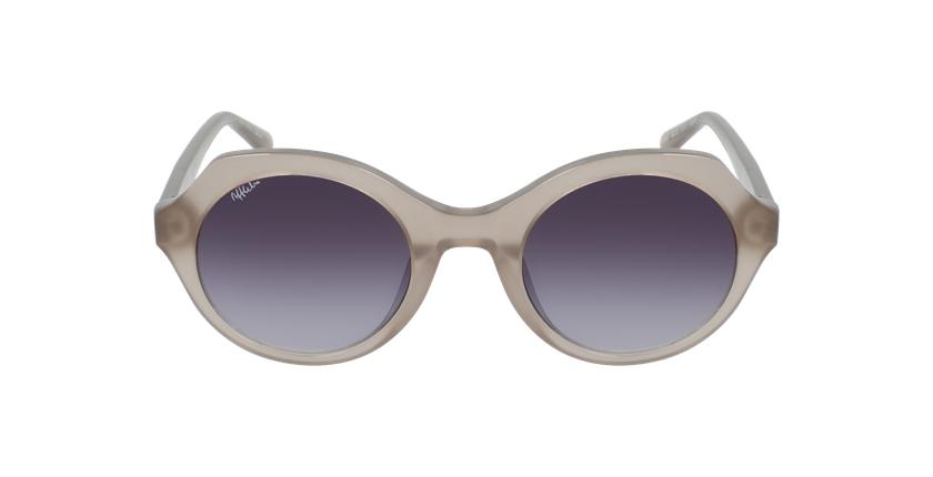 Óculos de sol senhora AUREA GY cinzento - Vista de frente