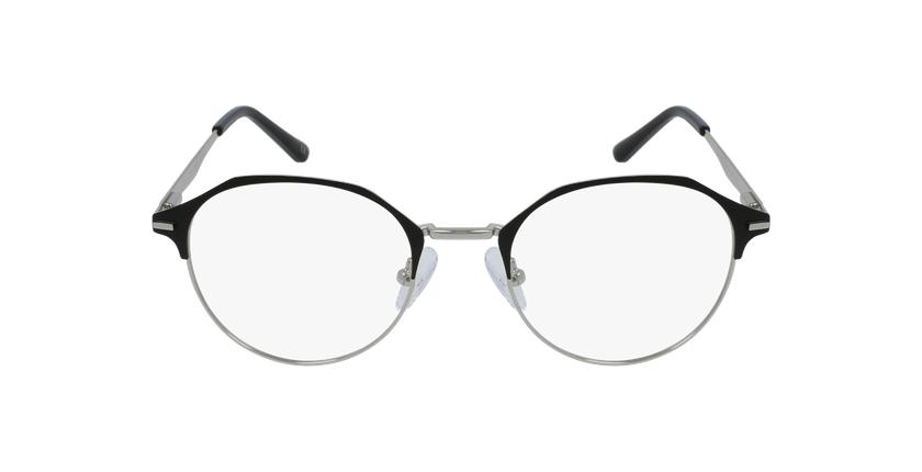 Óculos graduados senhora OAF20524 BLSL (TCHIN-TCHIN +1€) preto/prateado - Vista de frente