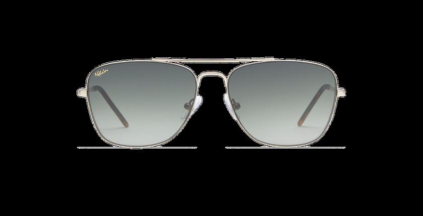 Gafas de sol hombre BRENTWOOD dorado - vista de frente