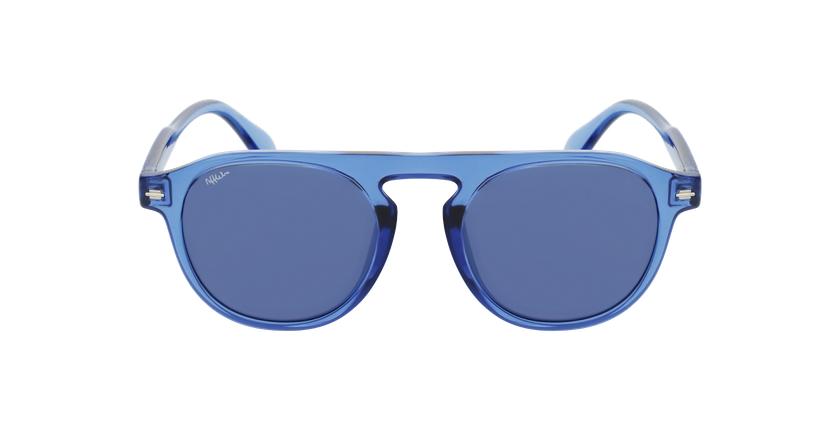 Lunettes de soleil BEACH bleu - Vue de face