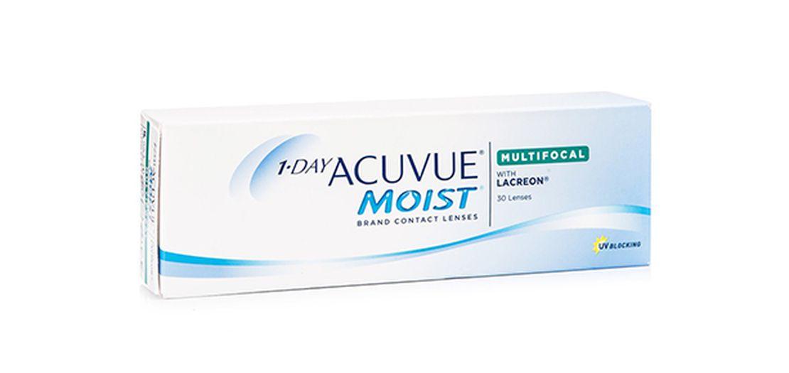 Lentilles de contact 1 Day Acuvue® Moist® Multifocal 30L