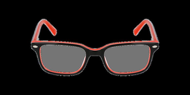 Óculos graduados criança Eddie bk (Tchin-Tchin +1€) preto/laranja