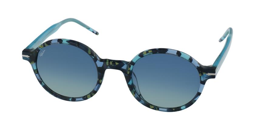 Lunettes de soleil femme TRUDY turquoise - vue de 3/4