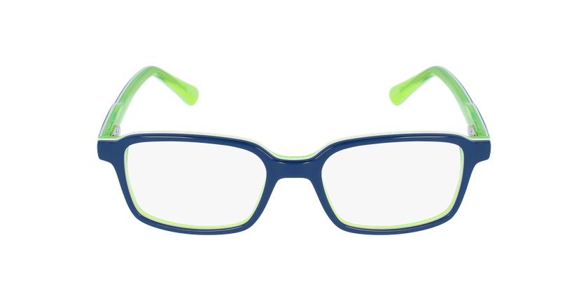 Óculos graduados criança SURF_MINIMOS azul/verde - Vista de frente