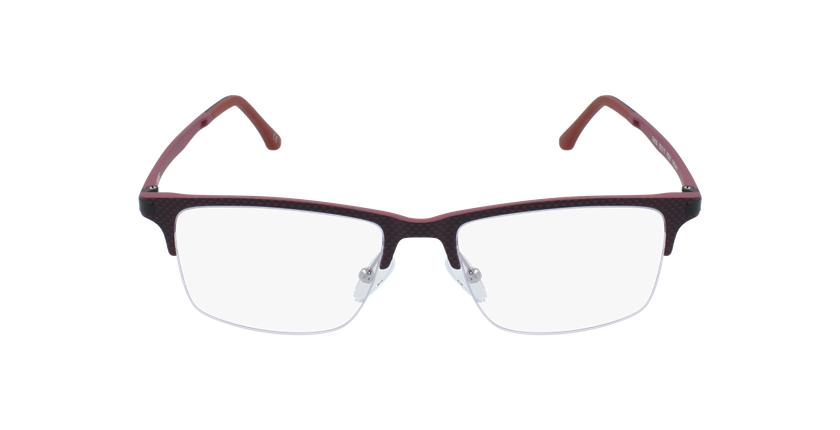 Óculos graduados homem MAGIC 56 BLUEBLOCK - BLOQUEIO LUZ AZUL vermelho - Vista de frente