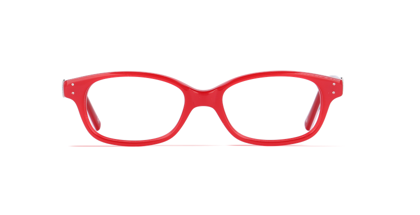Lunettes de vue enfant KATY rouge - vue de face