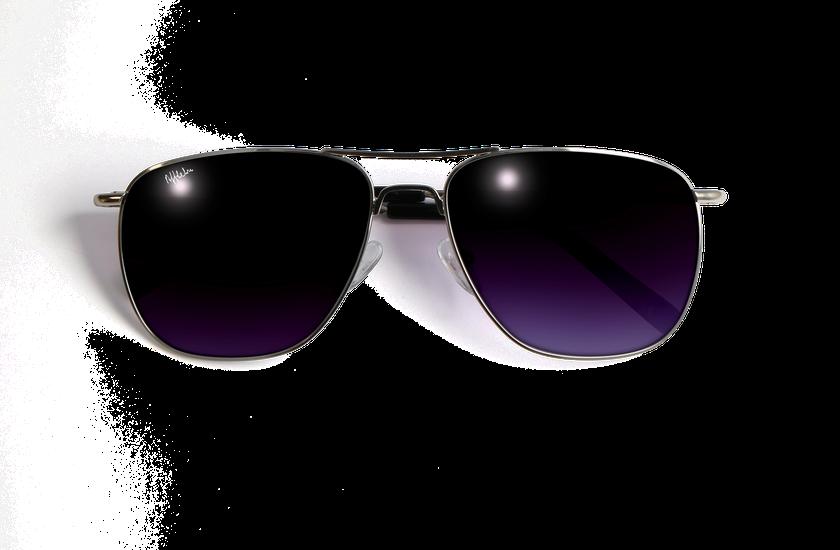 Lunettes de soleil homme SAH4855 argenté - danio.store.product.image_view_face
