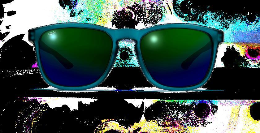 Lunettes de soleil JERRY POLARIZED vert - Vue de face