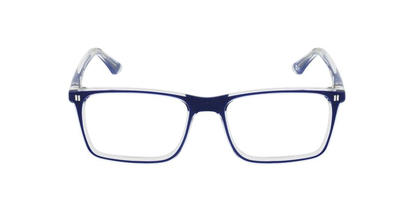 Óculos graduados criança REFORM TEENAGER (J1BL) azul/cristal - Vista de frente