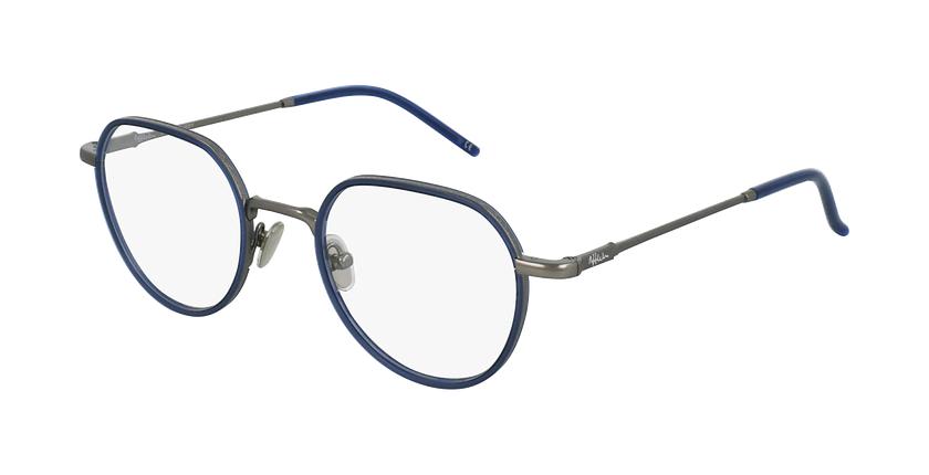 Óculos graduados DEBUSSY BL prateado/azul - vue de 3/4