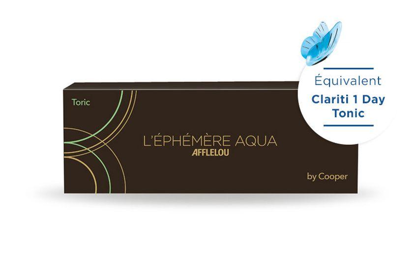 Lentilles de contact Ephémère Aqua Journalière Toric 30L - vue de face