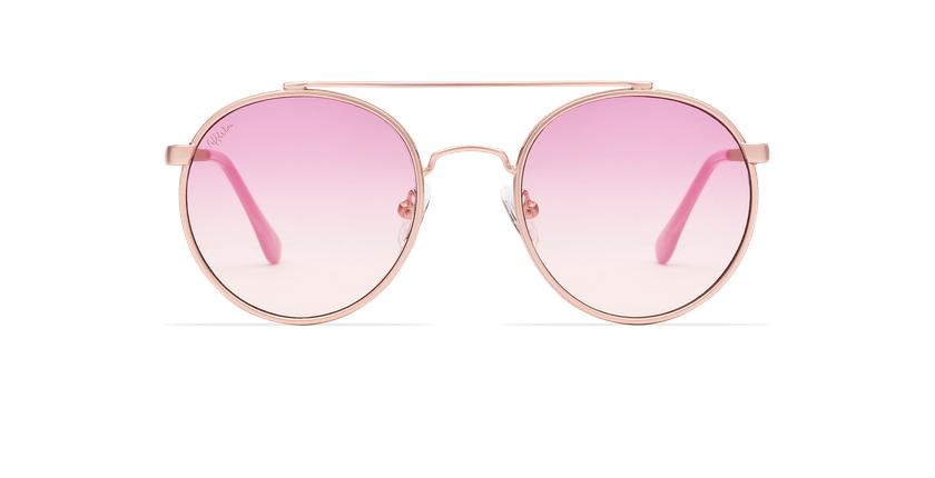 Óculos de sol MOHO PK rosa - Vista de frente