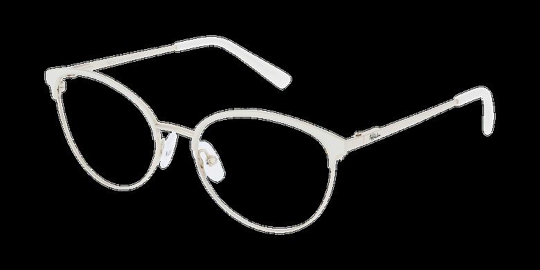 Lunettes de vue femme FAUSTINE blanc/doré