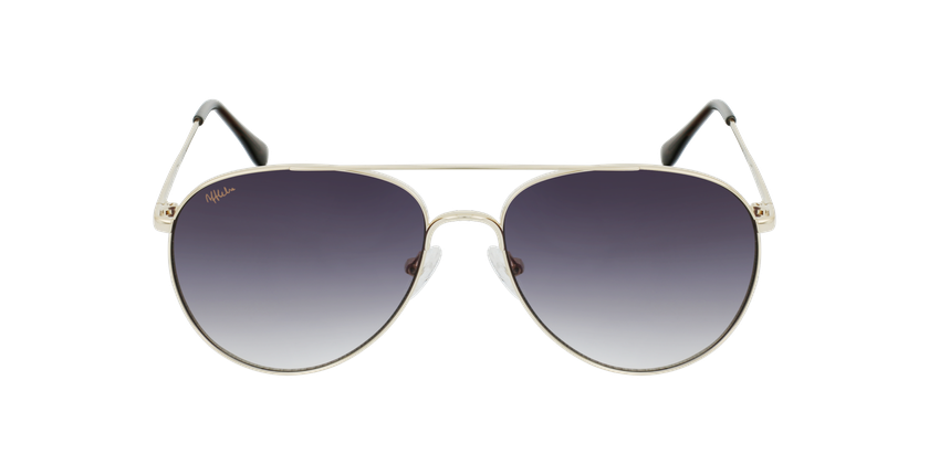 Óculos de sol MUSA GD dourado - Vista de frente