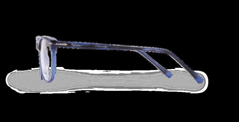 Lunettes de vue homme ARBOIS bleu - Vue de côté