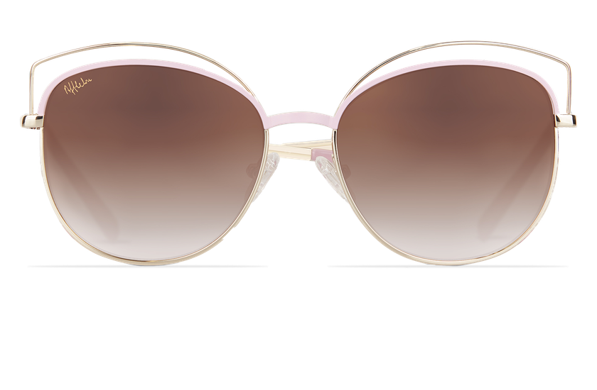 Gafas de sol mujer BETTY rosa/dorado - danio.store.product.image_view_face