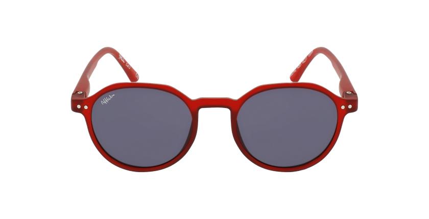 Óculos de sol criança PAZ RD vermelho - Vista de frente