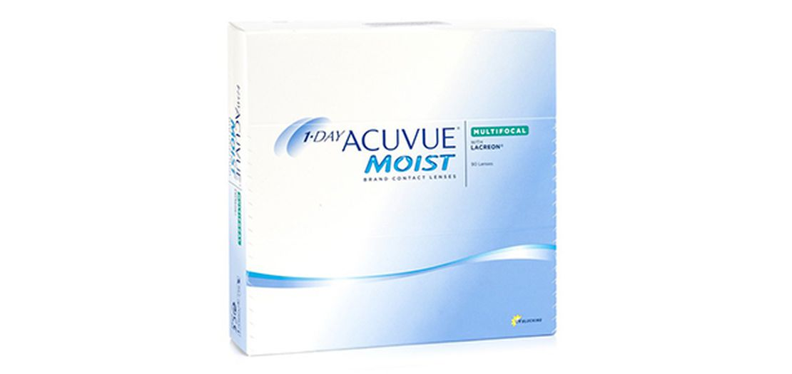 Lentilles de contact 1 Day Acuvue® Moist® Multifocal 90L