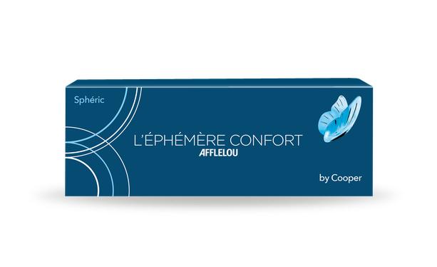 Lentilles de contact Ephémère Confort Silicone Hydrogel 30L - Vue de face
