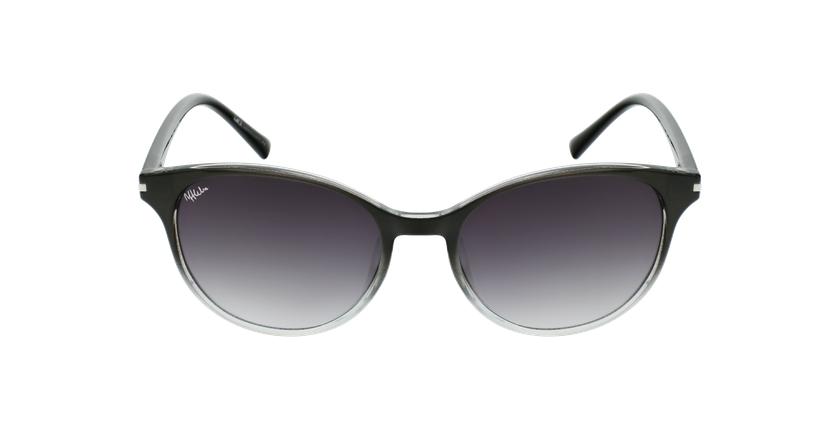 Óculos de sol SEROS BK preto - Vista de frente