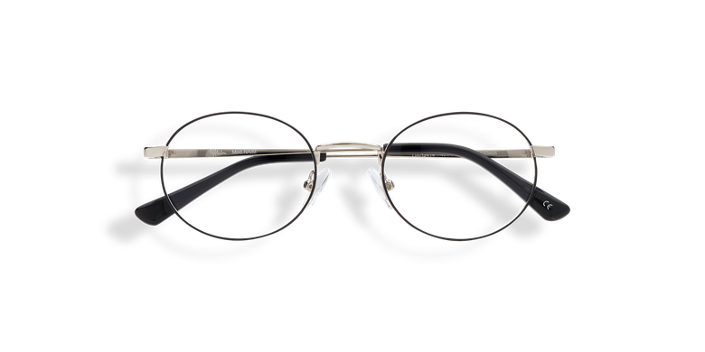 Óculos graduados NAIM (Tchin-Tchin +1€) prateado/preto