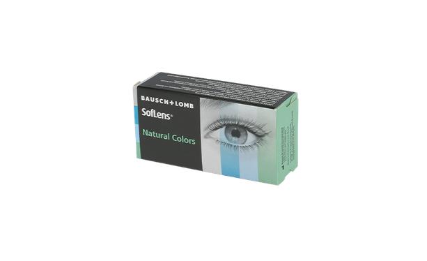 Lentilles de contact SOFLENS NATURAL COLORS - Vue de face