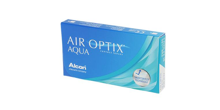 Lentilles de contact Air Optix Aqua 3L