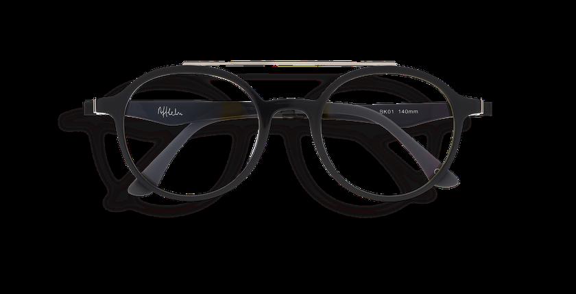 a66f5d085 ... Óculos graduados MAGIC 26 BK01 preto - Vista de frente ...