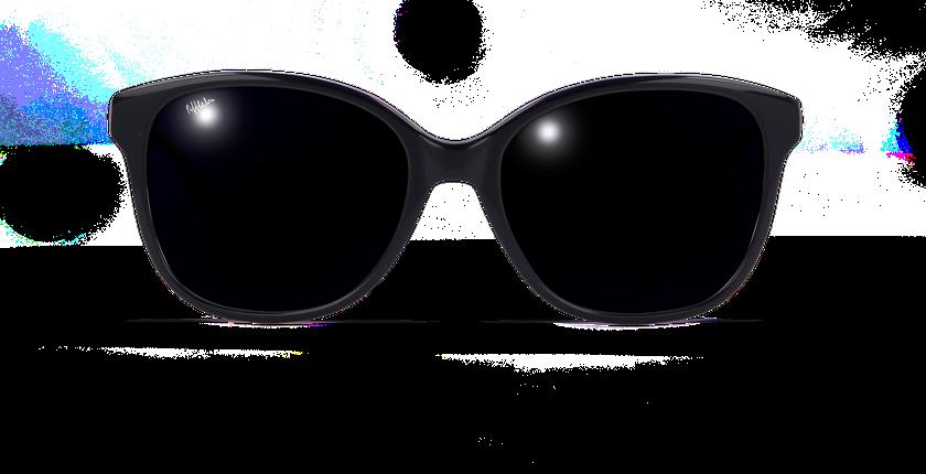 Lunettes de soleil femme AMY bleu - vue de face