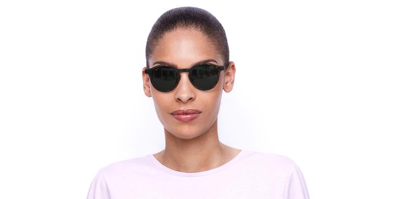 Óculos de sol senhora LILA TO tartaruga/preto