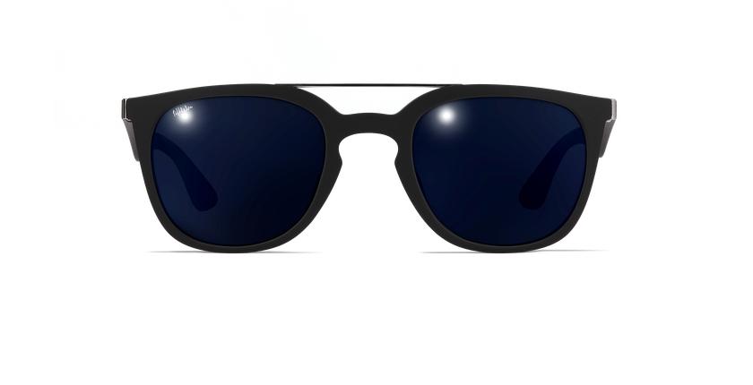 Óculos de sol homem CAGLIARI POLARIZED preto - Vista de frente