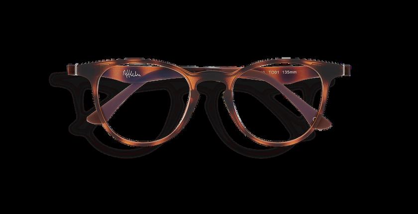 Óculos graduados MAGIC 27 TO01 tartaruga  - Vista de frente