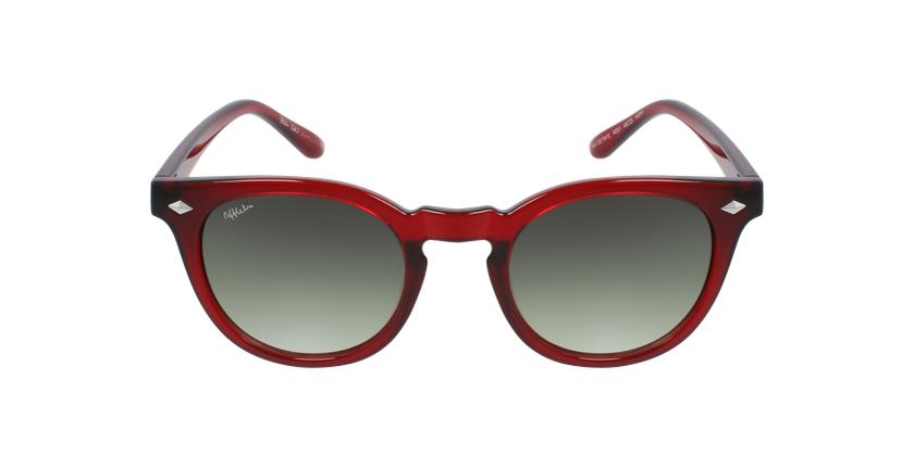 Óculos de sol GETAFE RD vermelho - Vista de frente