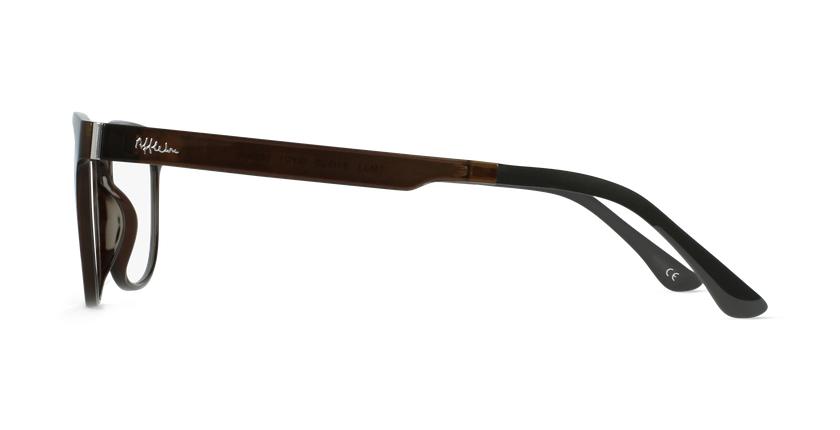 Óculos graduados homem MAGIC 33 GY BLUEBLOCK - BLOQUEIO LUZ AZUL cinzento - Vista lateral