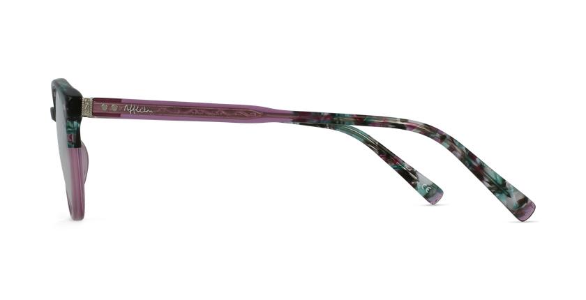 Lunettes de vue VIVALDI rose - Vue de côté