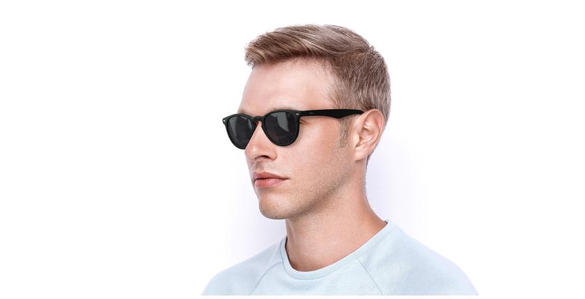 Óculos de sol H20 BK preto - vue de 3/4