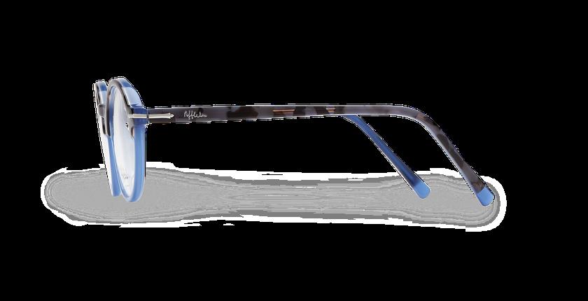 Gafas graduadas hombre MORBIER carey/azul - vista de lado