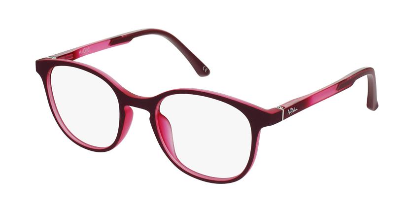Óculos graduados criança MAGIC 80 PK - ECO FRIENDLY rosa - vue de 3/4