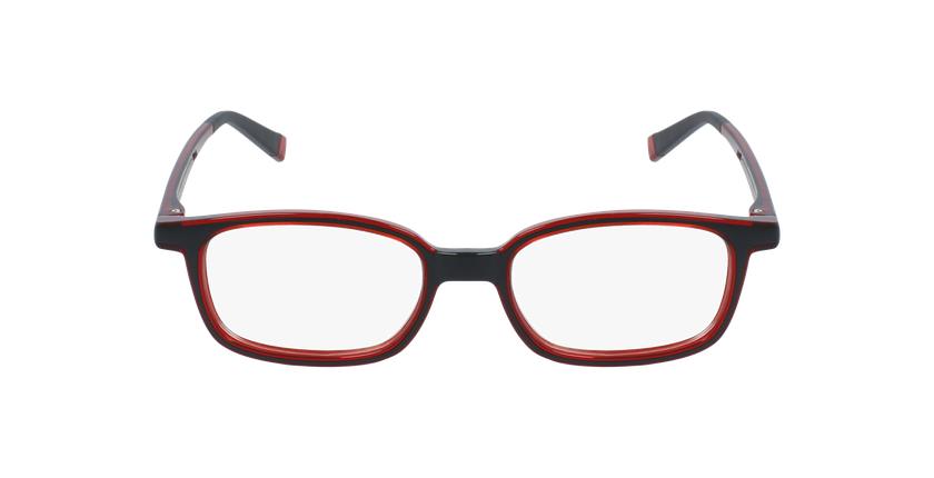 Lunettes de vue enfant RFOP1 noir/rouge - Vue de face