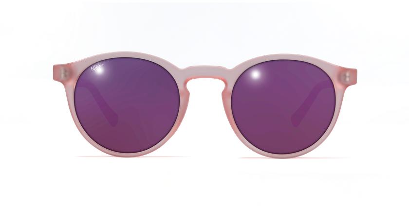 Lunettes de soleil femme FROZZY rose - Vue de face